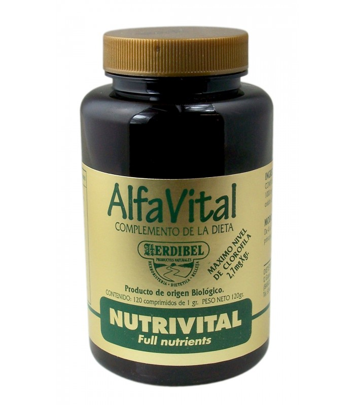 ALFAVITAL 120 comp. 1000 mg. Herdibel