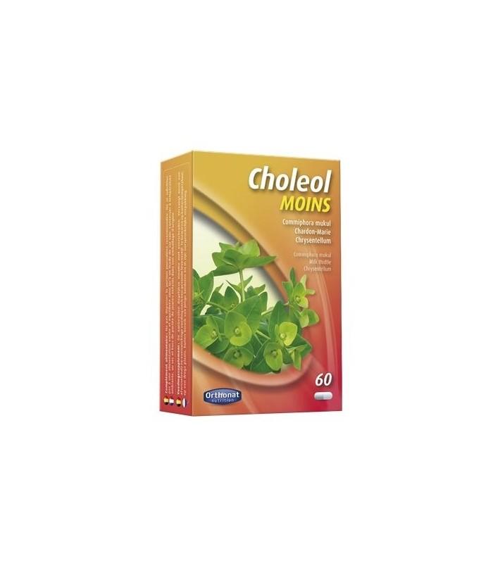 CHOLEOL MOINS 60 caps. ORTHONAT NUTRITION