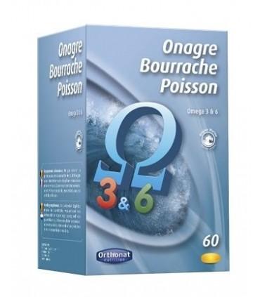 O.B.P.(ONAGRA-BORRAJA-SALMON) ORTHONAT 60 CAPS