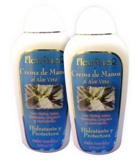 Crema de Manos al Aloe Vera y Plantas Medicinales Fleurymer