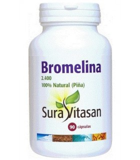 BROMELINA 2.400 500 mg. SURA VITASAN