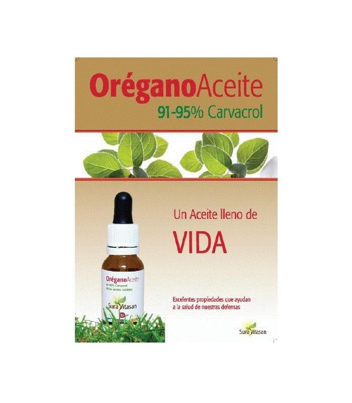 ACEITE DE OREGANO SILVESTRE SURA VITASAN 15 ml