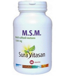 M.S.M. (Metil-Sulfonil-Metano) SURA VITASAN 90 CAPS