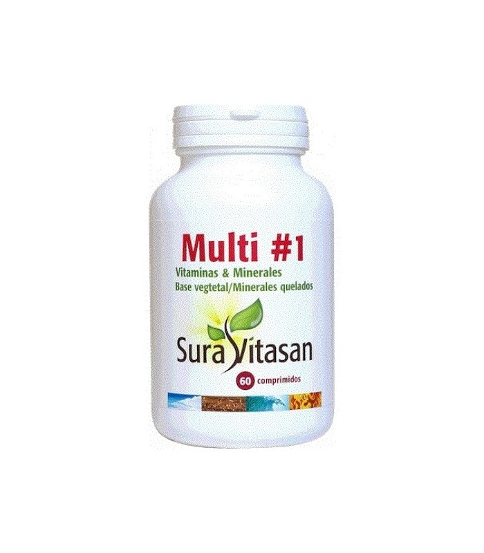 Multi 1 Vitamins & Minerals Sura Vitasan