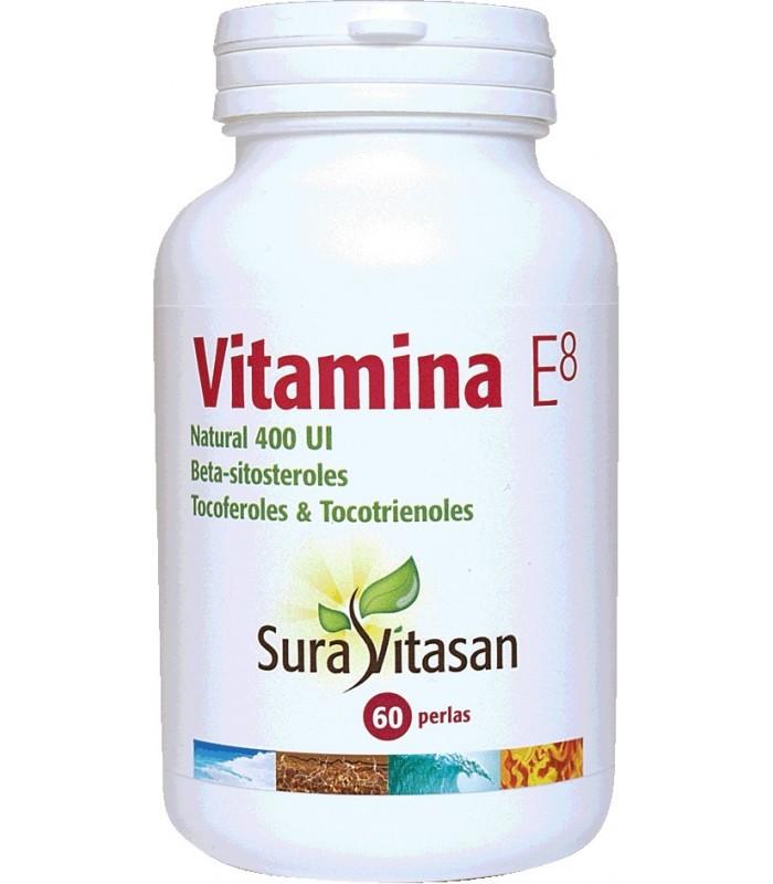 Vitamina E8 natural 400 U.I. Sura Vitasan