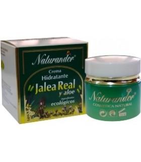 CREMA HIDRATANTE FACIAL DE JALEA REAL Y ALOE (ingredientes ecológicos)