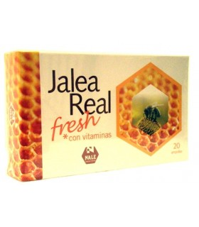 JALEA REAL FRESH 20 ampollas