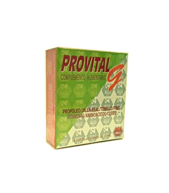 PROVITAL G 14 ampollas