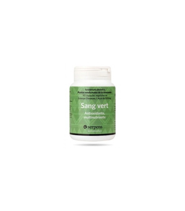 SANG VERT antioxidante 90 caps. SERPENS