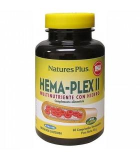HEMA PLEX II (accion retardada) 60 comp. NATURES PLUS