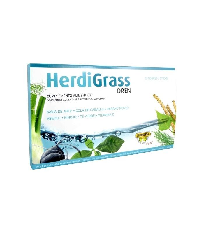 HERDIGRASS DREN 20 ampollas 15 ml.