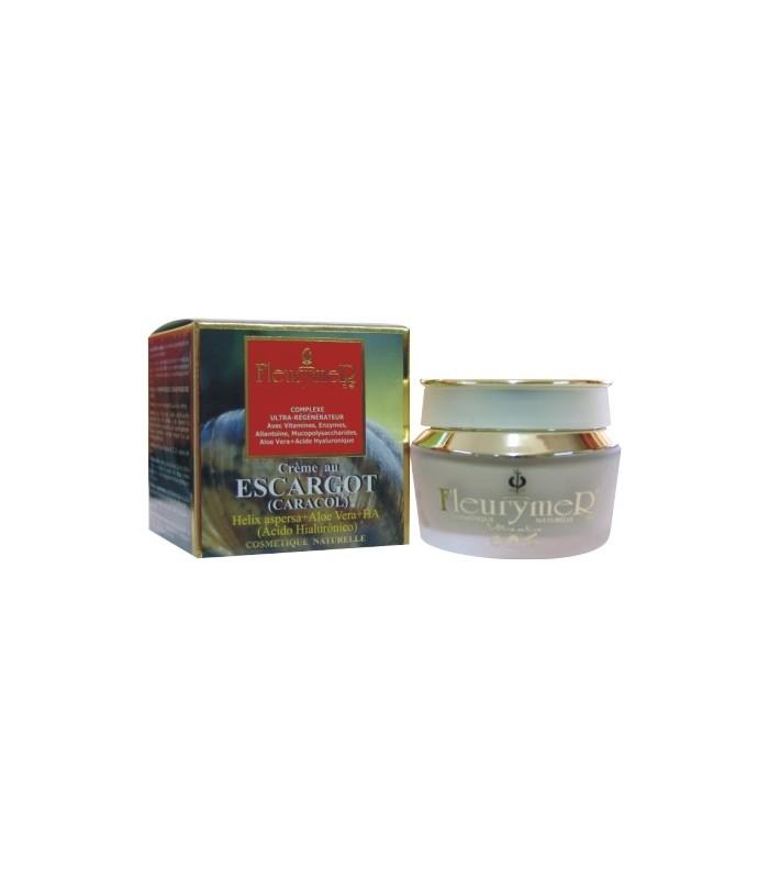 Crema Caracol+Acido Hialurónico+Aloe 50 Ml  ( FLEURYMER )