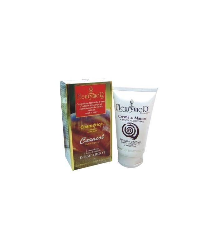 Crema Manos Caracol+Aloe Vera 80 Ml  (FLEURYMER)