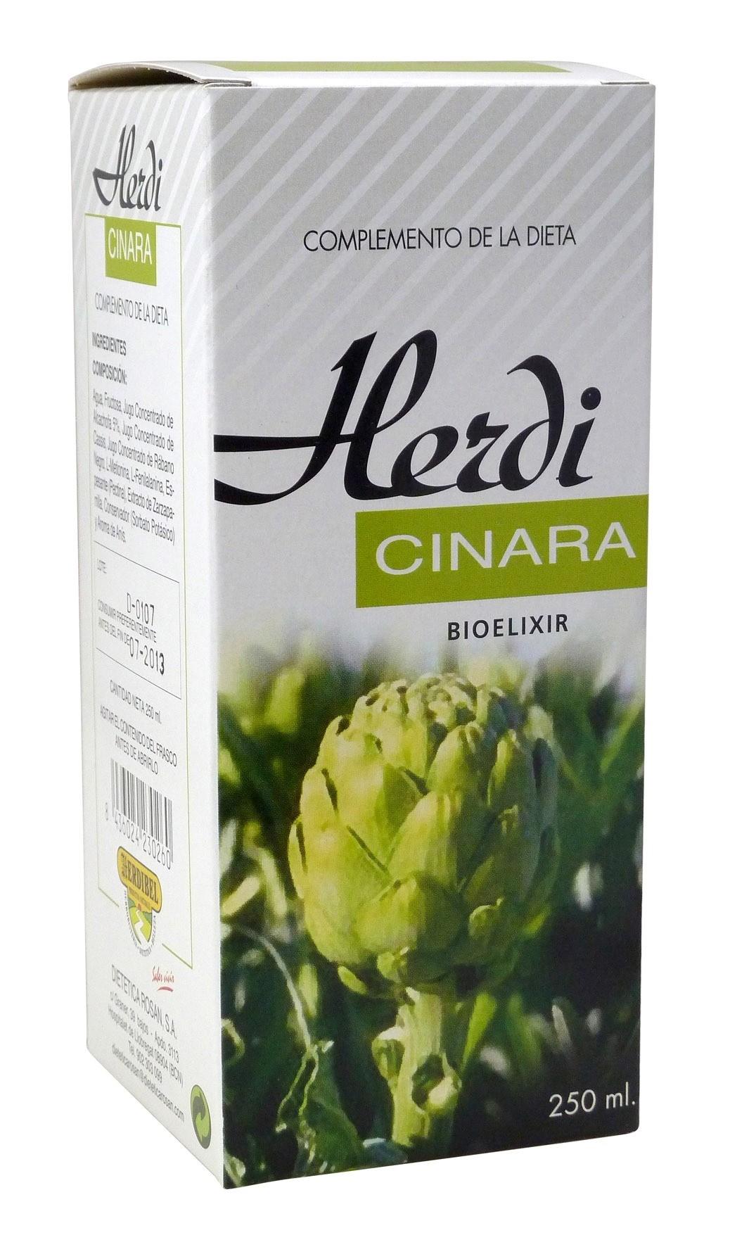 HERDICINARA botella 250 ml. HERDIBEL